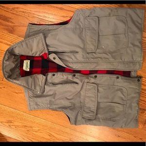 St John's Bay Utility Vest, Khaki